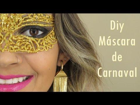 Diy m scara de carnaval youtube - Mascaras para carnaval ...