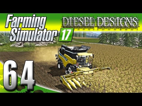 Farming Simulator 2017 Gameplay :EP64: New Holland CR10.90 Combine! (PC HD Goldcrest Valley)
