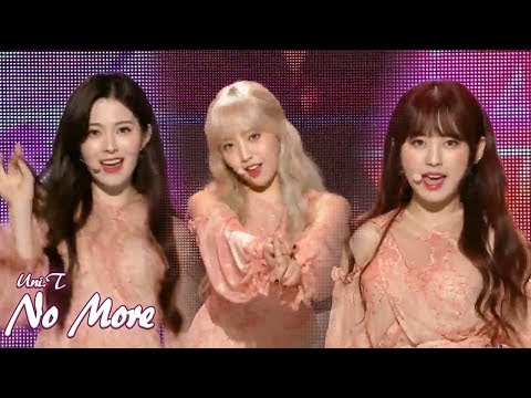 [HOT] UNI.T - No More , 유니티 - 넘어 Show Music core 20180526