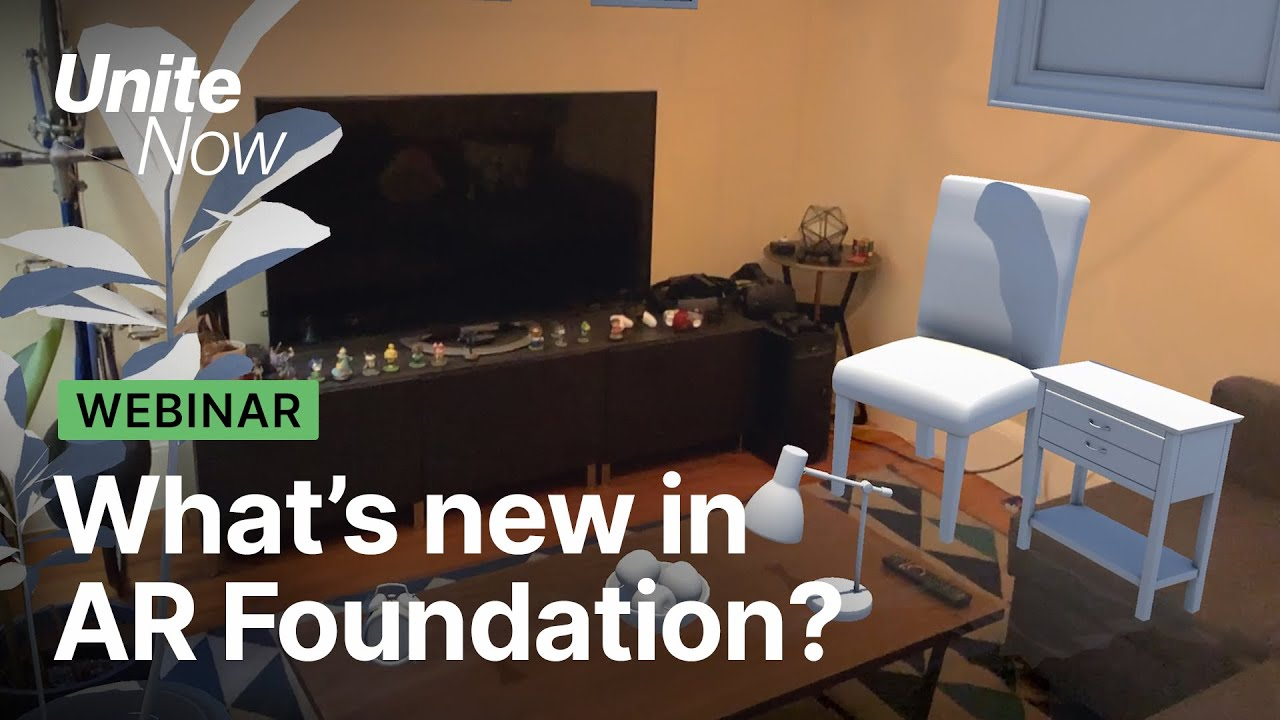 What's new in Unity's AR Foundation   Unite Now 2020