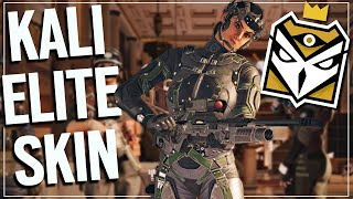 The Hardest Elite Animation To Get - Rainbow Six Siege (Kali Elite Skin)