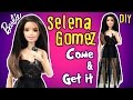 Selena Gomez Come & Get It Dress for Barbie Doll - DIY - How to Make Barbie Clothes