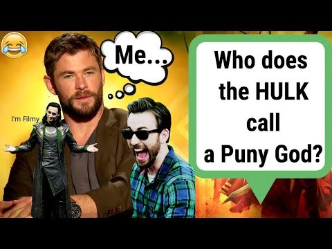 Avengers 4: End Game Cast Know Nothing About Marvel - Try Not To Laugh Quiz