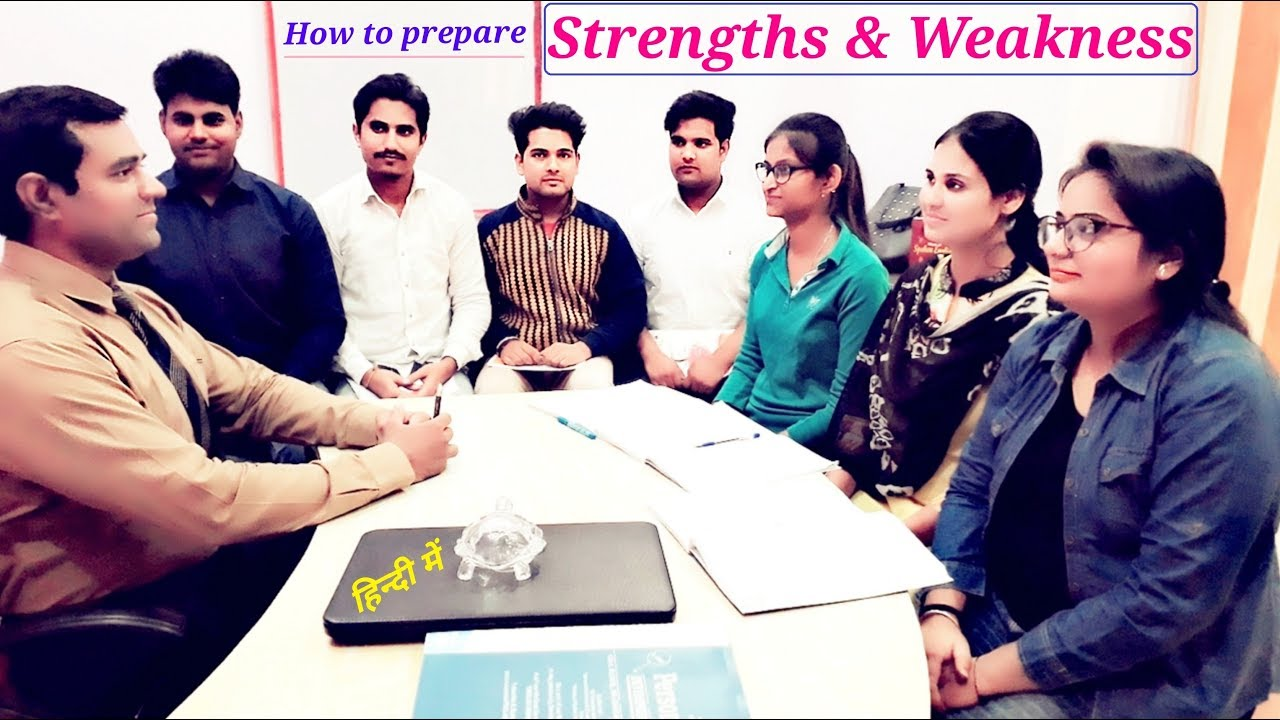 How To Prepare Strengths And Weaknesses Swot Kvs Job Interview Youtube