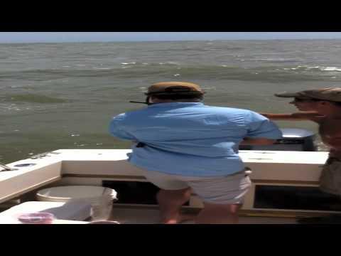 Offshore fishing Galveston, TX August 2012