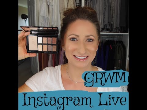 grwm-live-|-what-you-are-missing-on-instagram-|-lisasz09