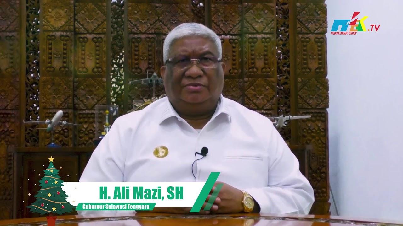 Ucapan Selamat Hari Natal H. Ali Mazi, SH - Gubernur Sulawesi Tenggara