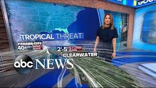 Download Tropical storm barrels toward Florida l ABC News Mp3 and Videos