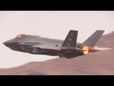 USAF DEMO Nellis AFB Aviation Nation 2017