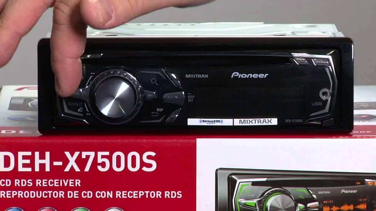 Estereo para Carro Pioneer DEHX7500S CD/MP3/WMA con ...