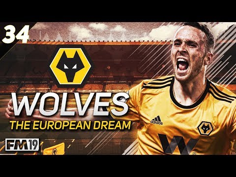 "Wolves: The European Dream - #34 ""SUDDEN DEATH"" - Football Manager 2019"