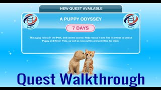 The Sims FreePlay - A Puppy Odyssey Discovery Quest Walkthrough
