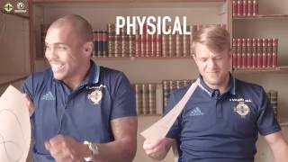 Ward and Magennis react to their FIFA 17 Ratings