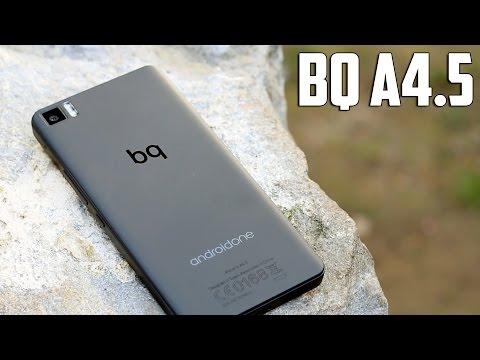 bq A4.5 Android One, review en español