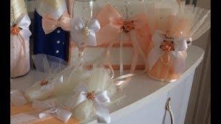 """DIY Свадебные свечи для обряда """"семейный очаг"""" своими руками МАСТЕР-КЛАСС"""