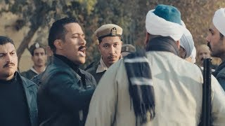نسر الصعيد - مشهد ضرب زين القناوي لرجالة هتلر 💪 .. لما أضرب رجالة هتلر بيه قدامه هتعمل إيه 👊