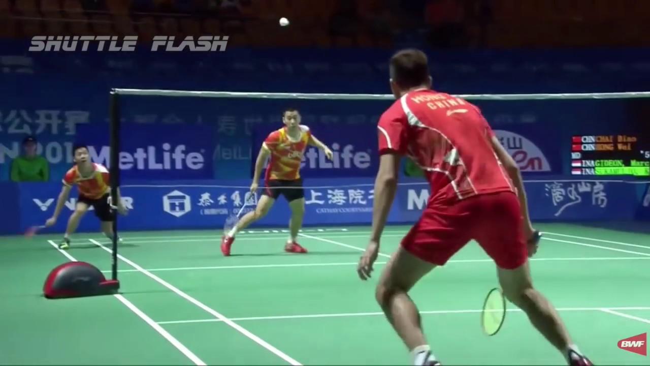 KEVIN Sanjaya Sukamuljo KING of Badminton Service ACES