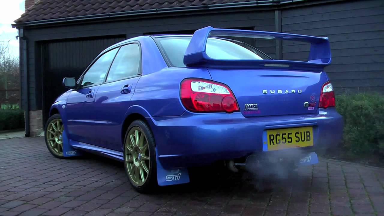 Subaru Impreza Sti Prodrive Vs Blitz Nur Spec R Exhaust