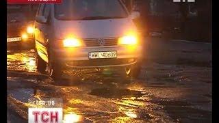 На Львовщине возник коллапс с транспортным сообщением