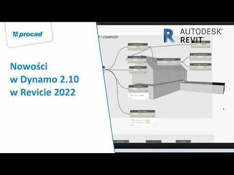 Nowości w Dynamo 2.10 w Revicie 2022 | NetCafe