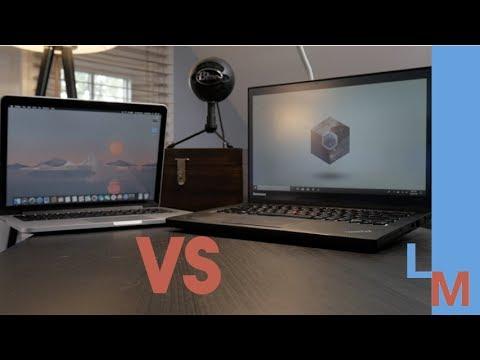 Used ThinkPad vs Used MacBook Pro | Used Ultrabook Comparison - YouTube