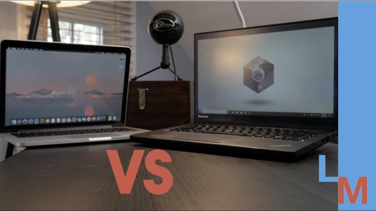 Used ThinkPad vs Used MacBook Pro | Used Ultrabook Comparison