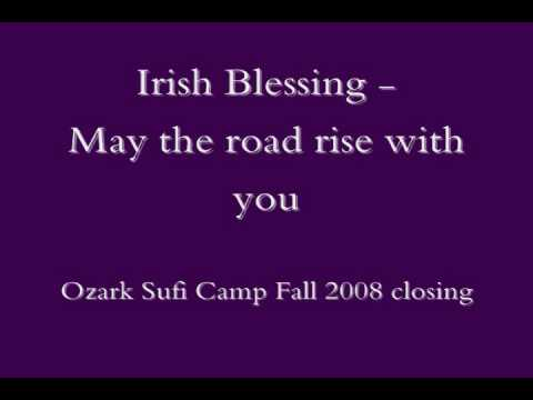 Irish Blessing - May the road rise with you