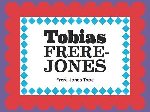 Typographics 2016: Text and Type, Tobias Frere Jones