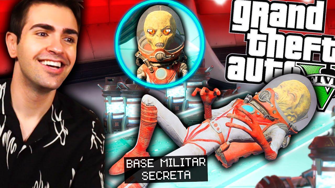 Advertencia! NO QUIEREN QUE ENCUENTRES esta BASE MILITAR en GTA 5 !! *Expediente Secreto X*