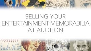 Heritage Auctions (HA.com) -- Selling Your Entertainment Memorabilia at Heritage Auctions