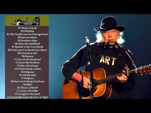 Neil Young greatest hits - the best songs of Neil Young