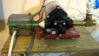 مضخة فلتر الماء المنزلي