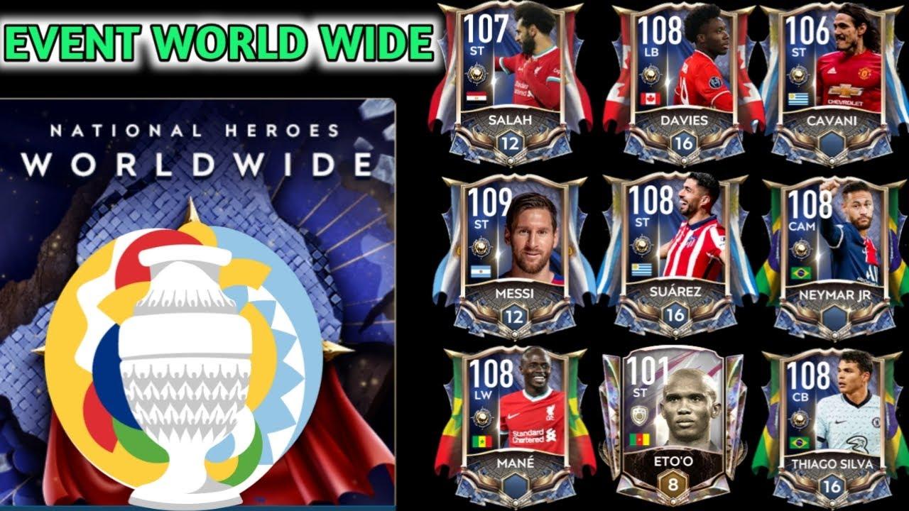 Download [FIFA MOBILE 21] CÁCH CHƠI SỰ KIỆN WORLD WIDE ĐƠN GIẢN HIỆU QUẢ | COPA AMERICA, CONCACAF, ....