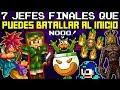 Top 7 Jefes Finales de Videojuegos que Puedes Batallar Desde el Inicio