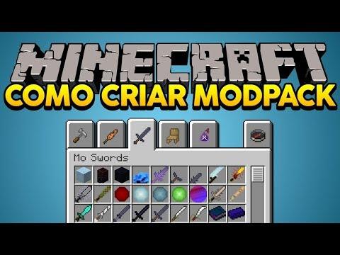 Minecraft: COMO CRIAR SEU PRÓPRIO MODPACK! thumbnail