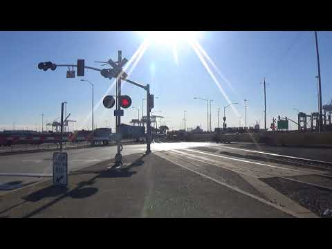 Maritime St (Main Branch Line) Railroad Crossing Video (Part 2)