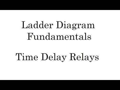 Ladder Diagram Fundamentals Time Delay Relays Programming - How to wire a time delay relay diagrams