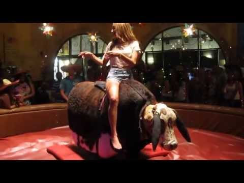 Mechanical Bull Riding lesson