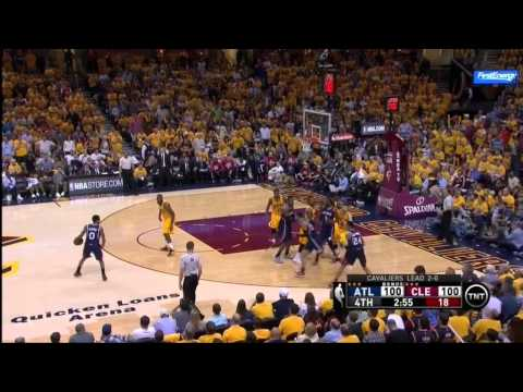 Jeff Teague Isolation on LeBron