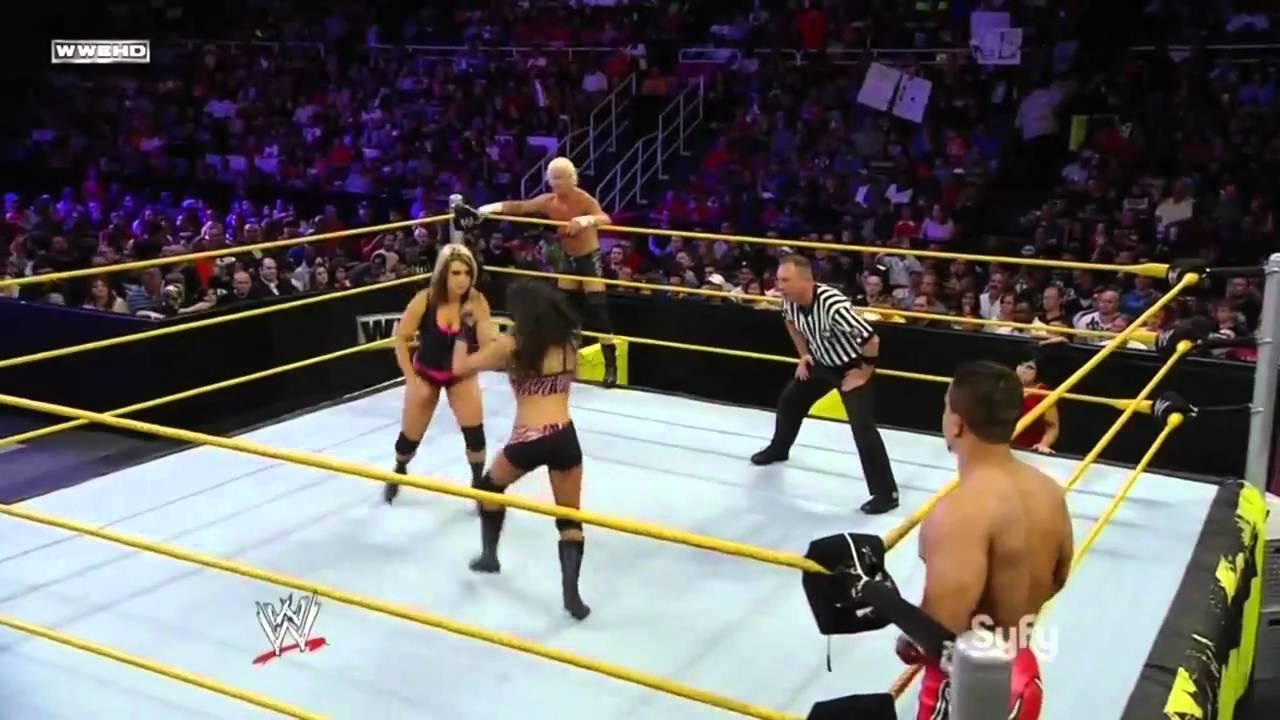 Natalya and the great khali vs aj and dolph ziggler dating