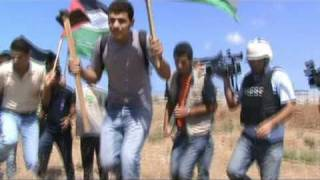 Gaza deaths protest comes under heavy live fire from Israeli snipers