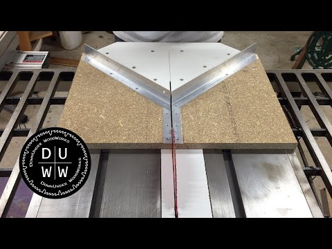 How to make a mitre sled with perfect zero clearance