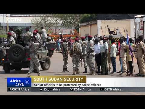 South Sudanese soldiers acting as bodyguards told to return to barracks