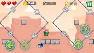 Jungle Adventures: Super World - Sahara Level 3... Gameplay (Free Game On Android)