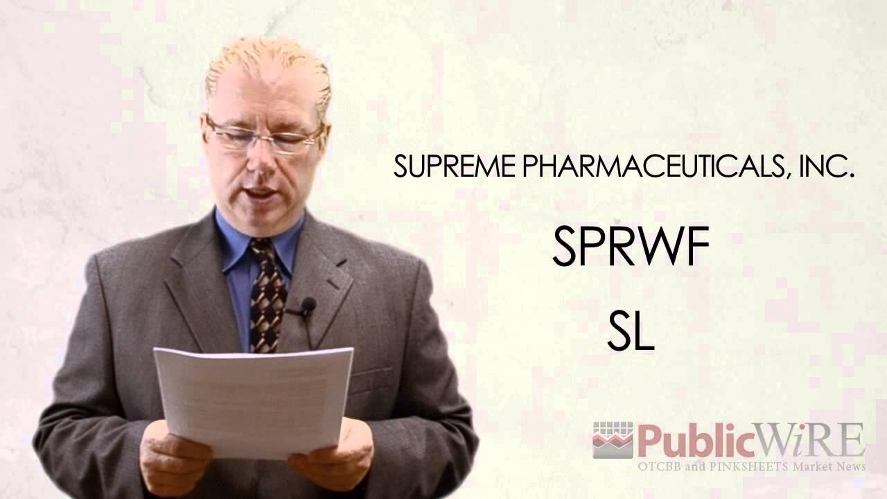 Supreme Pharmaceuticals Aktie