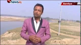 बबई नदीले अत्याधिक मात्रामा कटान गर्न थाले पछि बर्दियावासी चिन्तित – NEWS24 TV