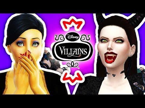 😈DISNEY VILLAIN VAMPIRES😈 The Sims 4 Disney Villains Challenge #2!