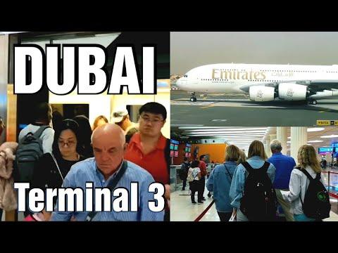 Dubai - Terminal 3 Airport (full Video)