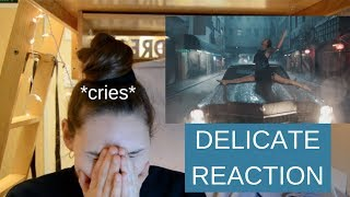 Delicate Music Video Reaction   Taylor Swift   CRYING