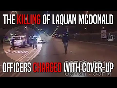 Chicago Officers Charged With Cover Up In Laquan McDonald Case